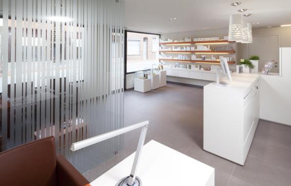 schoonheidssalon inrichting pac interiorspac interiors