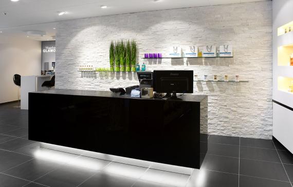 Schoonheidssalon inrichting pac interiorspac interiors - Kaptafels ontwerp ...