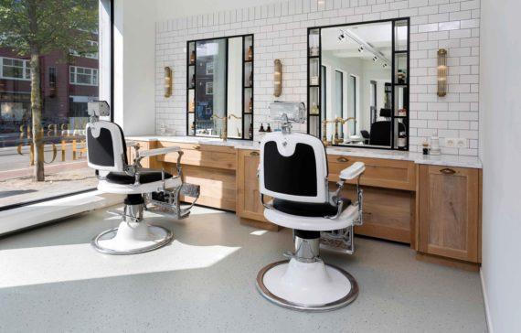 Pac interiors kapsalon inrichtingen winkelinrichtingen en inrichting van schoonheidssalonspac - Inrichting van een lounge in lengte ...