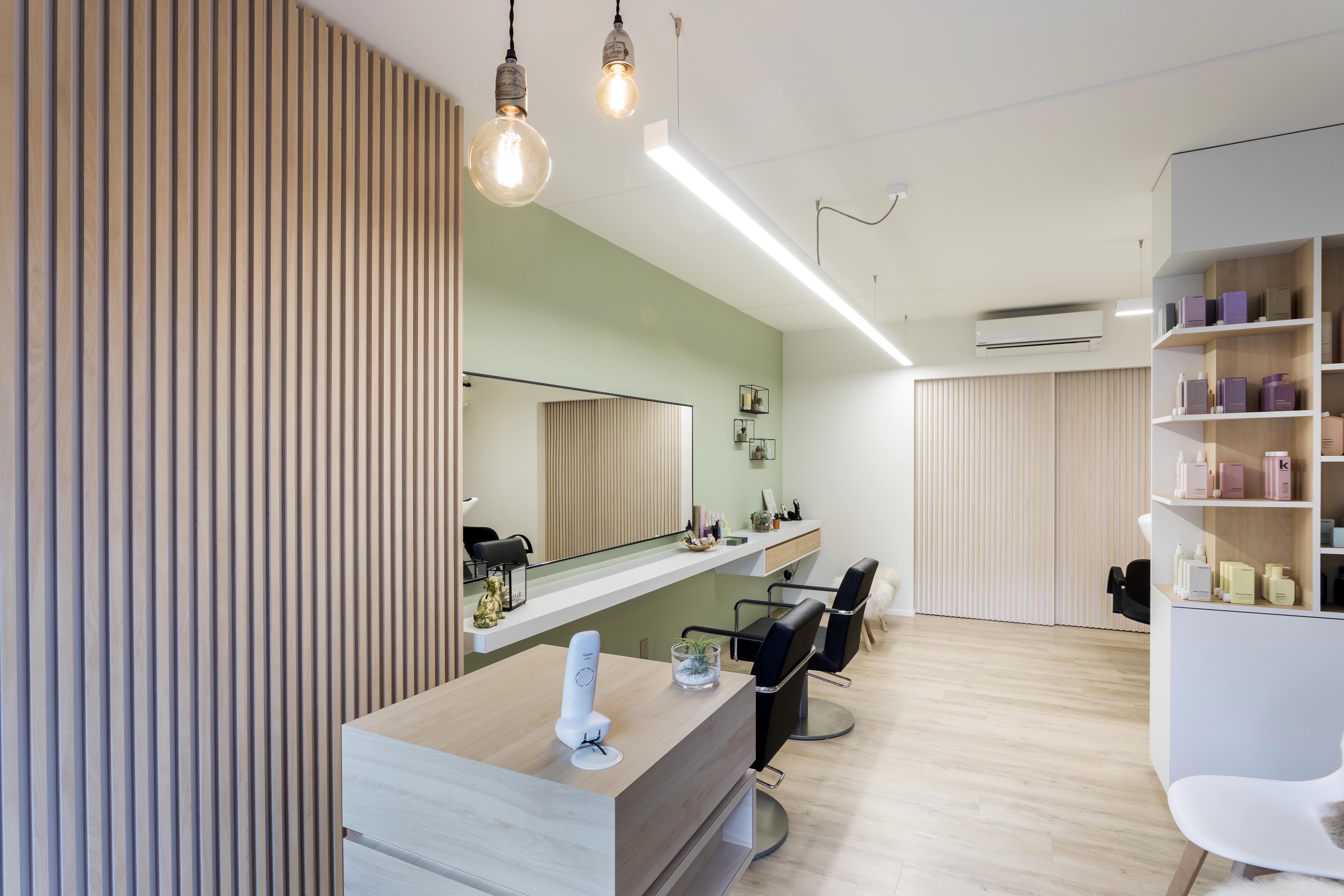 Kegels Kruibeke PAC interiors realisatie salon interieur
