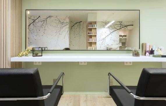 Salon Inrichting Meubels : Pac interiors kapsalon inrichtingen winkelinrichtingen en