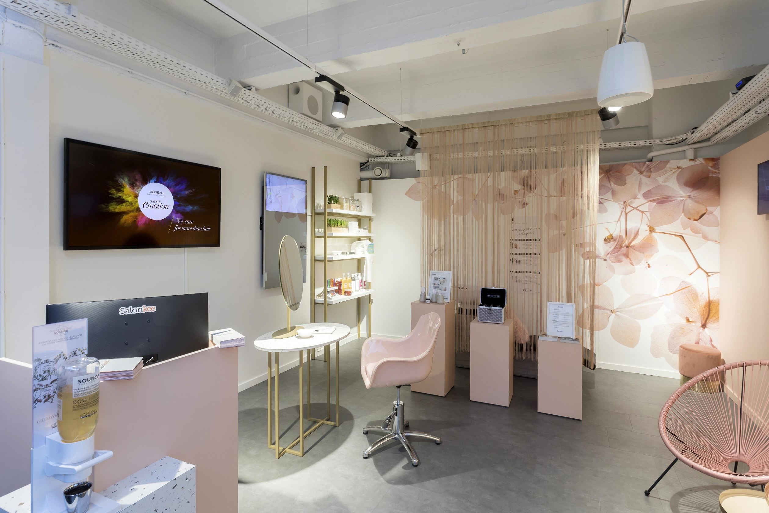 PAC interiors retail hub
