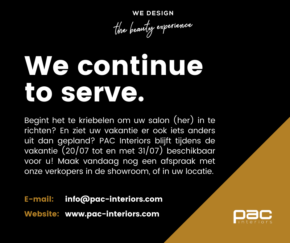 We continue to serve